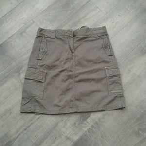 Jcrew skirt size 6 olive green